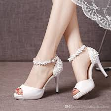 wedding shoes online uk fashionable 2017 summer ankle straps high heel wedding shoes