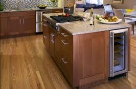 kitchen island with wine storage wine cooler in kitchen island