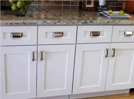 Shaker Style Kitchen Cabinets Wonderful Modern White Cabinet Doors For Intended Inspiration