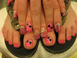 pink polka dot tuxedo nail art designs by top nails clarksville