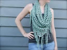 free crochet triangle scarf patterns crochet and knit