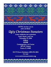 metec ugly christmas sweater