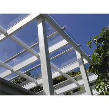 Clear Patio Roofing Materials Clear Roof U0026 Clearvue Roof Panel 5100x586mm Clear Sc 1 St Bunnings