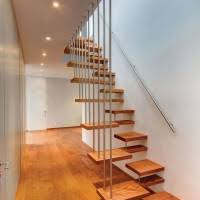 divine image of home interior stair design using black wrought