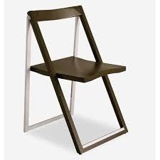 chaise de pliante chaises pliantes design au meilleur prix chaise pliante skip wengé