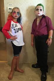 joker and harley quinn kids halloween costume 2016 squad