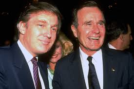 george h w bush date of birth was donald trump almost on the george h w bush ticket new york