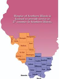 Southern Illinois Map by Office Locations And Service Area