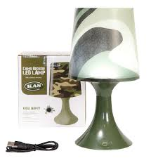 army camo camouflage bedroom bedside table night light led table