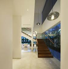 Interior Stair Lights Wind Vault House Wallflower Architecture Design Architecture Lab