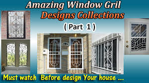 latest window grill designs part 1 youtube