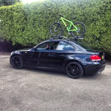 bmw 1 series roof bars best bike rack for 1 series coupe