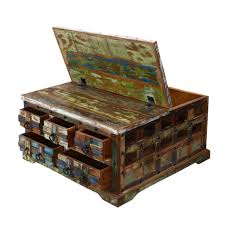 coffee table chest coffee table painted trunks on pinterest trunk