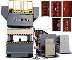 door skin press machine metal door pattern making machine