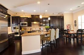 kitchen floor kitchen countertop ideas with oak cabinets tile