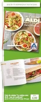bon livre de cuisine aldi promotion livre de cuisine la cuisine avec aldi bon et à