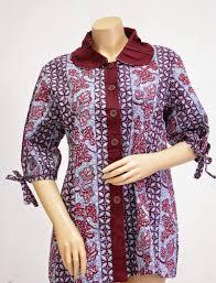 gambar model baju batik modern mamma baby bump