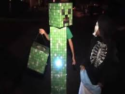 Minecraft Villager Halloween Costume Noah U0027s Minecraft Creeper Costume Halloween 2012