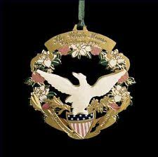 1998 the white house historical association ornament ebay