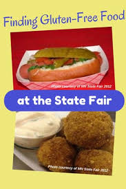 can you find state fair gluten free food gluten free diet tips
