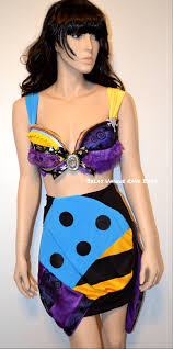 sally nightmare before costume bra