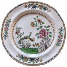 discontinued spode peacock china dinnerware