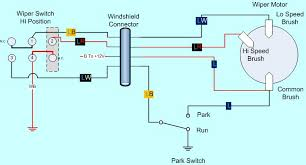 motor wiring diagram wiper wiring diagrams instruction