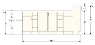 kitchen island plan wall cabinets as bases for a unique kitchen island