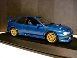 subaru autoart any body here collects autoart subaru wrc cars general vehicle