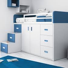 lit enfant combiné bureau lit simple contemporain pour enfant pour garçon touch 56