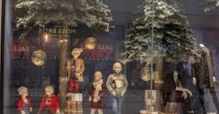 Next Christmas Window Decorations by Next Retail U0027s Christmas Window Displays Illuminated With Led