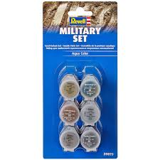 military acrylic paint set from revell wwsm