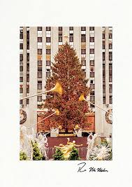 Business Printed Christmas Cards Center Christmas Tree Nyc Personalized Christmas Cards