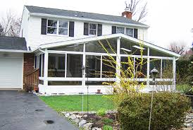 Adding Sunroom View 3 Season Gable Style Patio Room U0026 Patio Screen Room Photos