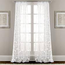 White Curtain Panel White Curtains Drapes You Ll Wayfair