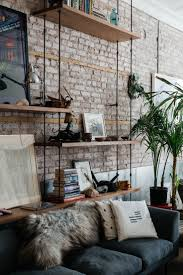 Wall Interior Design by Best 10 Brick Wall Decor Ideas On Pinterest Rustic Industrial