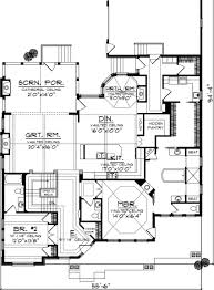 house plans without open concept small story home office bedroom