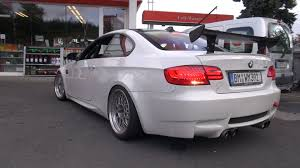modified bmw modified bmw e92 m3 w akrapovic exhaust youtube
