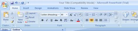 introduction to powerpoint convert a powerpoint 97 2003 presentation to powerpoint 2007