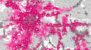 Verizon Coverage Map Oregon by T Mobile Revamps Its Coverage Maps Now Relies On Real Time