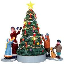 lemax christmas 44754 the tree set of 3 battery operated 4 5v