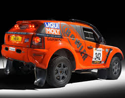 off road sports car bowler motorsport x land rover sport exr off road rally car