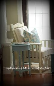 home decor blogs in canada refinished morris chair reveal a pop of pretty blog canadian