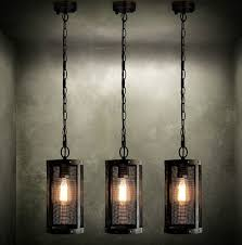 Retro Hanging Light Fixtures Nordic Loft Metal Mesh Retro Pendant Light Fixtures Edison