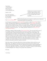 college application cover letter guidelines