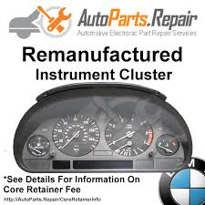 used bmw 740il instrument clusters for sale