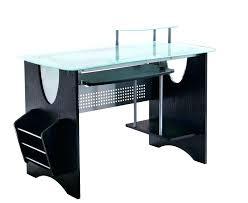 Clear Desk Accessories Tempered Glass Desk Weight Limit Glass Desk Office Glass Desk