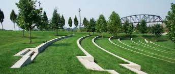 terraced outdoor amphitheatre google search landscape terraced