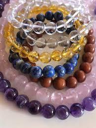 crystal bracelet charms images Customised crystal bracelets natural healing home jpg