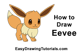 draw eevee pokemon